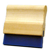 "80 Durometer Squeegee With 3.5"" Small Handle Priced per inch-0"