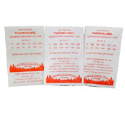 Thermolabels Paper Thermometers SET #5 290-330deg F 16Pk-136